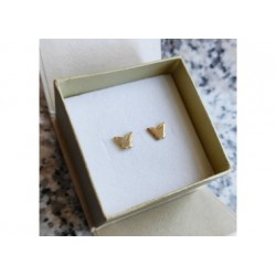 Kolczyki złote - motylki - pr. 333