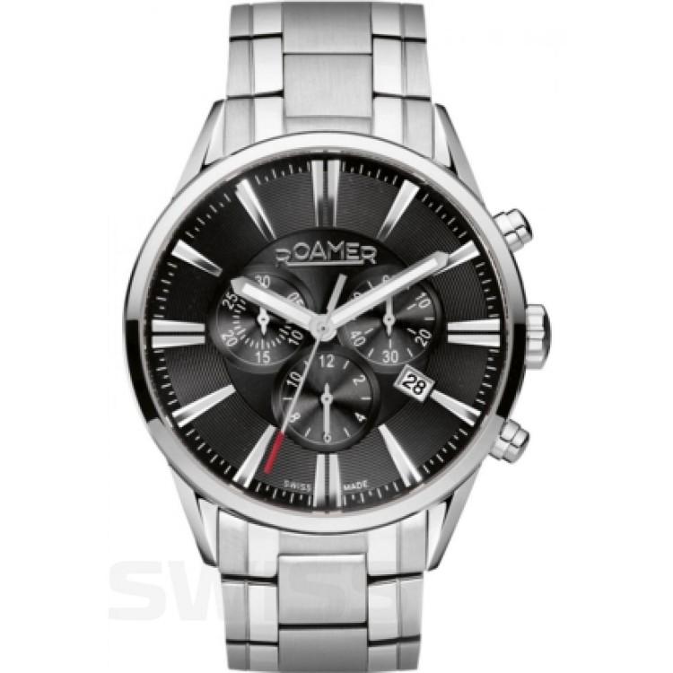 Zegarek męski ROAMER Superior Chrono - 508837 41 55 50